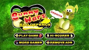 Screenshot of Bunny Wars: Egg Defence