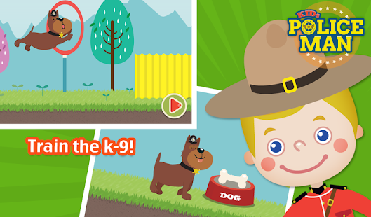 Kids Policeman Free- screenshot thumbnail
