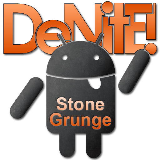 Stone Grunge Orange CM11 Theme LOGO-APP點子