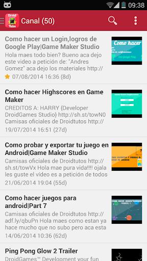 Droidtutos-App Oficial
