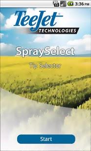 TeeJet SpraySelect- screenshot thumbnail