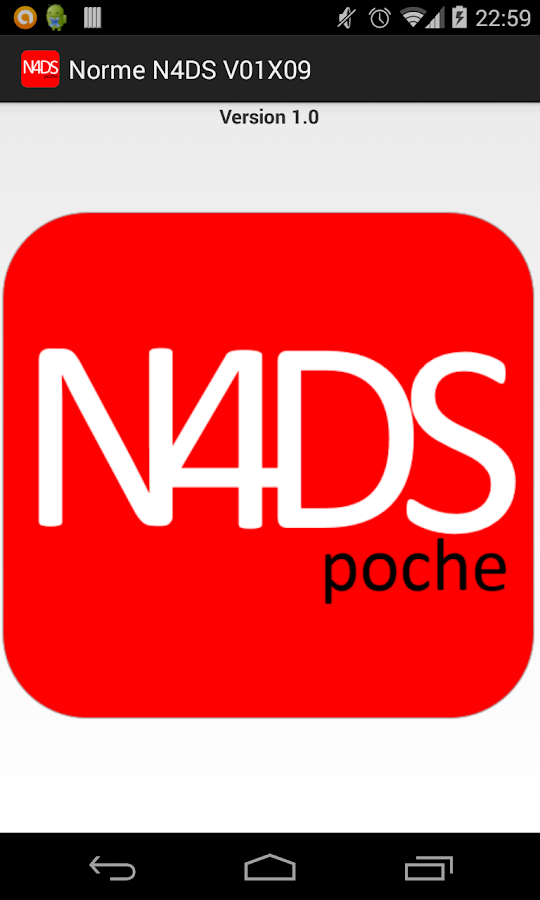 N4DS de poche – Capture d'écran