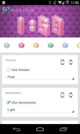 Pixel Art Clock Screenshot 5