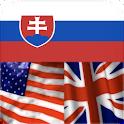 Dictionary Slovak English Free logo
