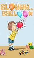Screenshot of Blowww... Balloon