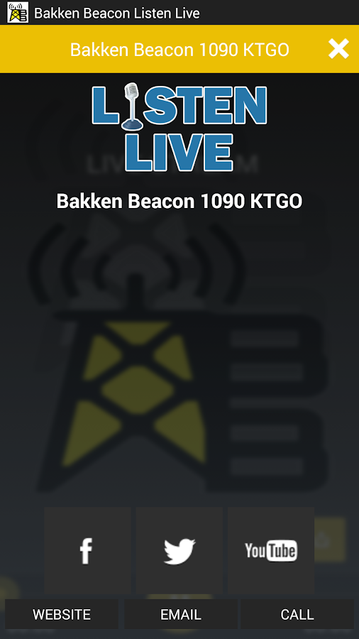 Bakken Beacon Listen Live- screenshot