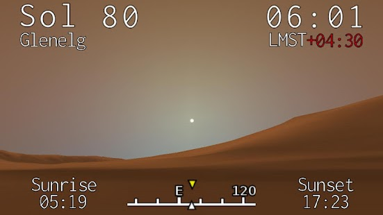 Curiosity Clock- screenshot thumbnail