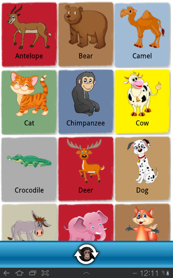 Animal Book - screenshot