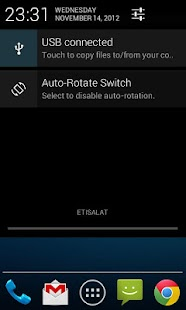 Auto-Rotate Status Bar Switch - screenshot thumbnail