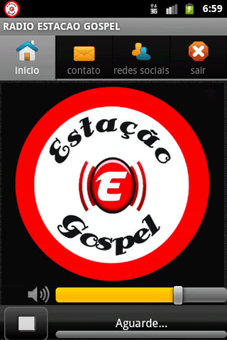 RADIO ESTACAO GOSPEL - screenshot