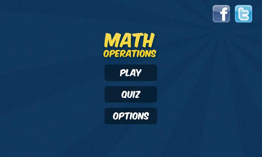 Math Operations 4 Kids