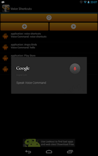 Voice Shortcuts Launcher- screenshot thumbnail