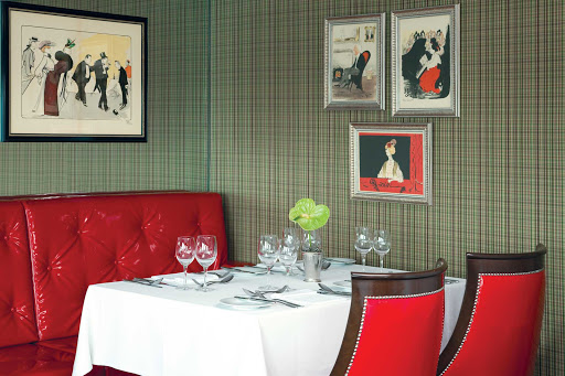 Uniworld-River-Empress-restaurant - Experience regional cuisine during your European getaway while dining in the restaurant aboard the River Empress.
