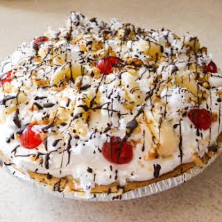 Banana Split Pudding Pie.