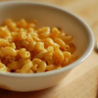 One-Bowl Microwave Macaroni and Cheese.