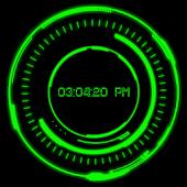 Iron Jarvis Laser Clock