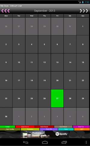 0 My Days - Period & Ovulation ™ App screenshot