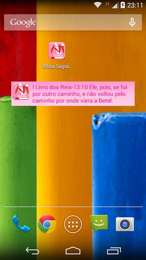 Bíblia Sagrada Rosa Catolica - screenshot