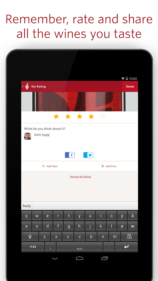 Vivino Wine Scanner - screenshot