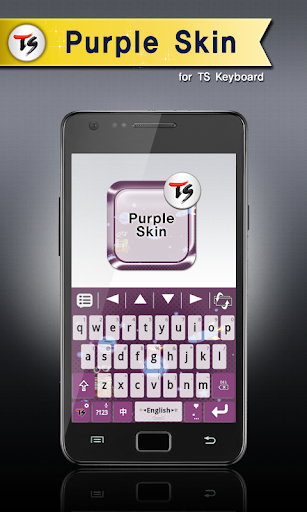 Purple Skin for TS Keyboard