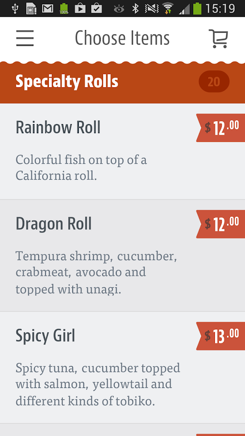 ASA Hibachi Sushi Lounge- screenshot