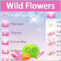 GO SMS Pro fleurs sauvages icon