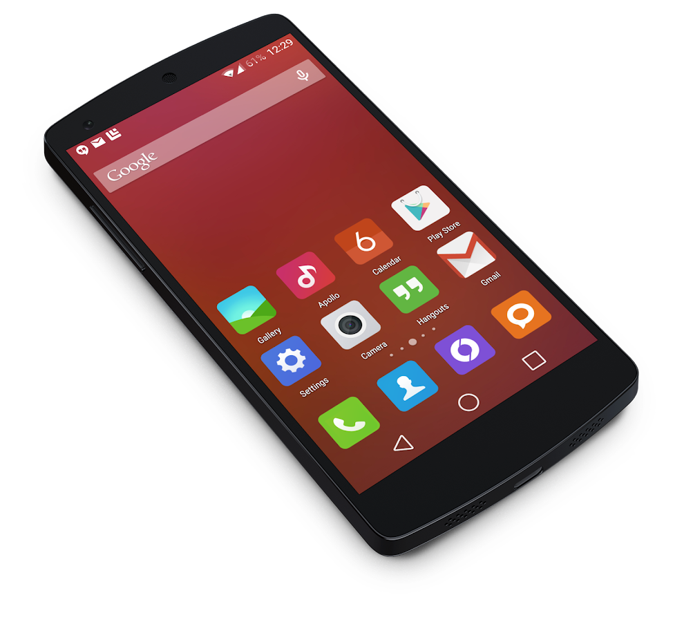 MIUI 6 - Launcher Theme - screenshot
