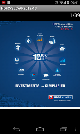 HDFC Securities Ltd AR 2012-13