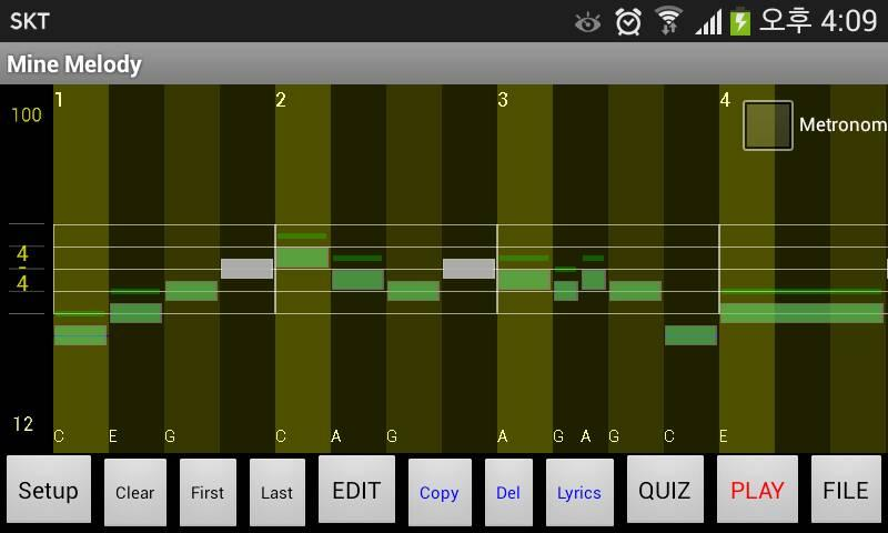 Ezy Melody Maker for Beginners- screenshot