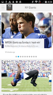 NJ.com: New York Giants News- screenshot thumbnail