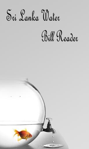 Sri Lanka Water Bill Reader