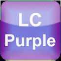 LC Purple Go Launcher Theme EX