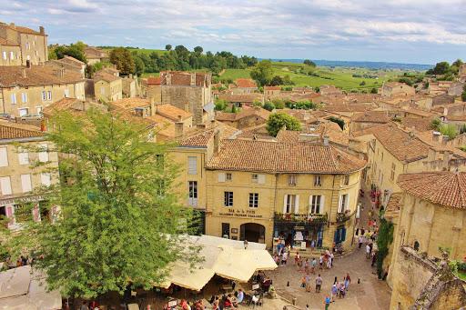 Saint-Emilion-Bordeaux-France - Saint-Emilion is a day trip from Bordeaux, France.
