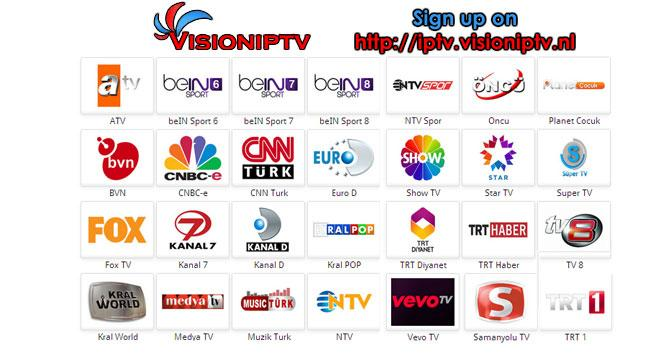 VisionIPTV for GoogleTV- screenshot