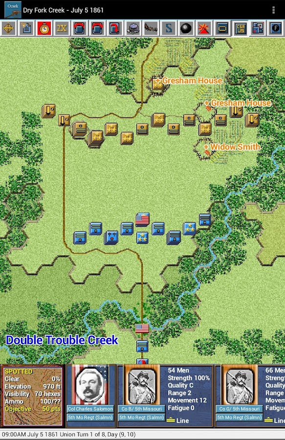 Civil War Battles - Ozark- screenshot