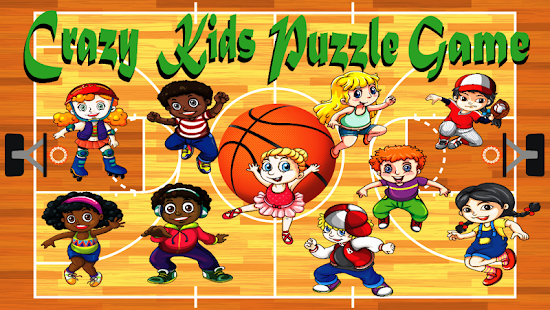 crazy kids puzzle game android apps on google play