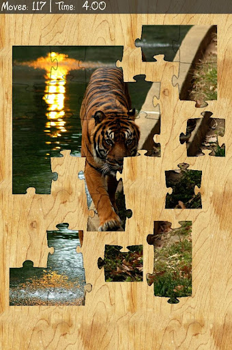 Picture Puzzle Free Rotation