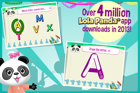 Lola's ABC Party-Learn to Read- screenshot thumbnail