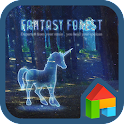Fantasy forest Dodol Theme icon