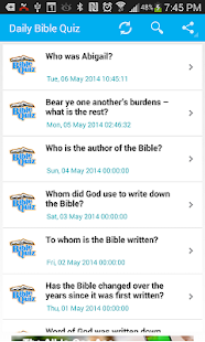 Bible Trivia- Quiz Daily- screenshot thumbnail