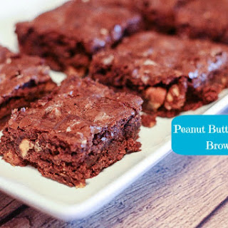 Peanut Butter Chocolate Brownies.