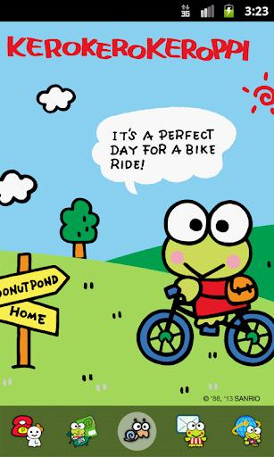 Kero A Bike Riding Theme