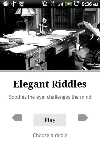 Elegant Riddles -Free & Full - screenshot
