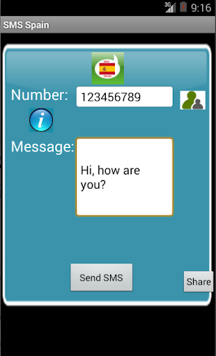 Free SMS Spain