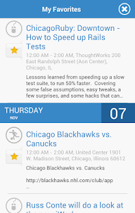 Chicago Events- screenshot thumbnail