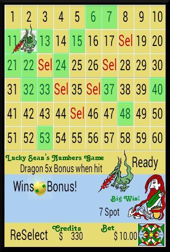 Dragon Bonus Keno