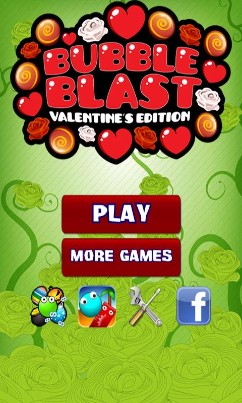 Bubble Blast Valentine - screenshot