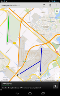 Schiphol Runways - náhled