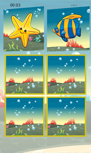 Fish Memory Puzzle