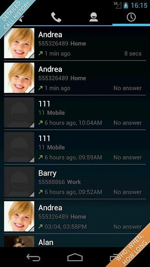 Swipe Dialer Pro- screenshot thumbnail